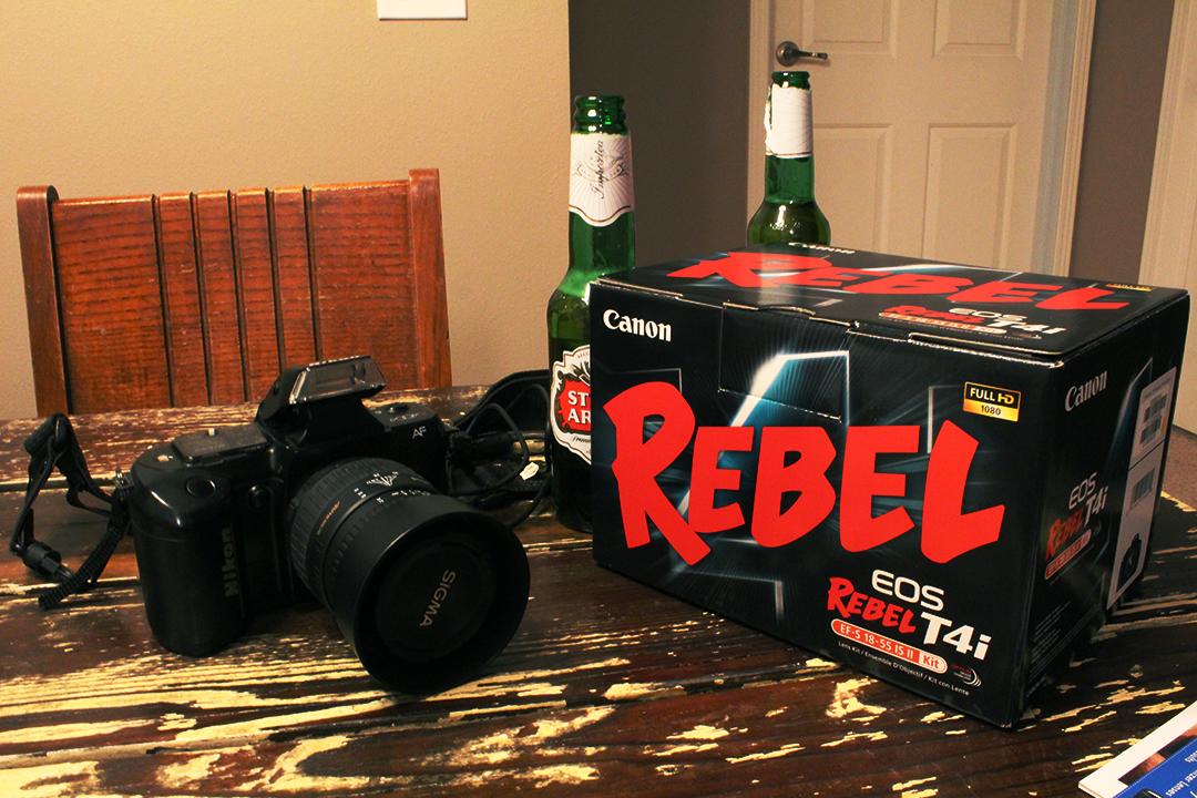 New Canon T4i!!