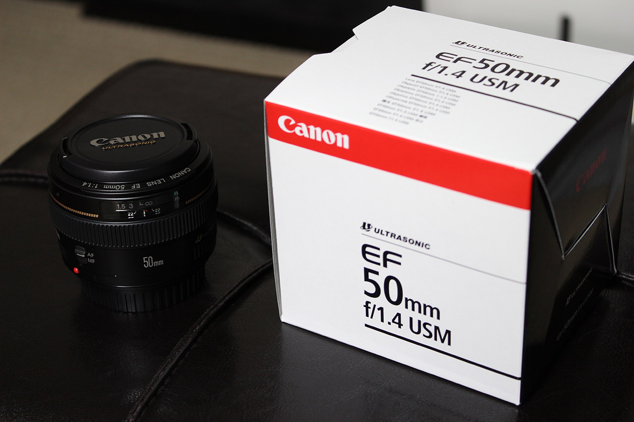 Canon 50mm 1.4f Lens